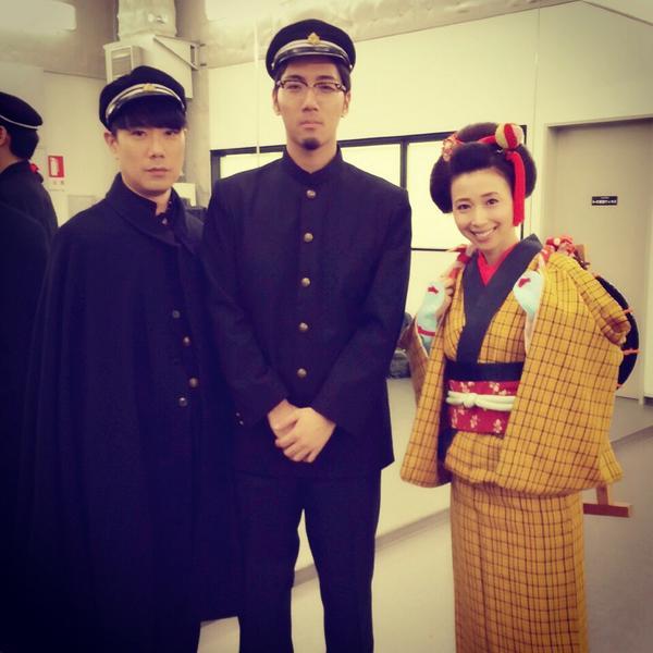 前に収録した、NHK「MUSIC JAPAN」 tofubeatsさんfeat.藤井隆さんの「ディスコの神様」が、今夜0時10分から放送です!!私は、伊豆の踊り子で踊っています♪皆さんご覧下さいねー!! http://t.co/pNFBMYwhg2