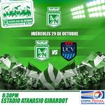 El próximo compromiso del verde es el miércoles por Copa Total Sudamericana. #VamosporlaSudamericana http://t.co/ijyBKVtq3m