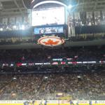 A moving tribute tonight by the Leafs and NHL and the fans, of which Im one! Now Go Leafs Go #TMLtalk http://t.co/Gdl5MAJqoi