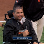 "RT @MLBFanCave: Bryan Stow calling ""play ball"" was a fantastic moment. Goosebumps. #WorldSeries http://t.co/TdUxBCM9KG"