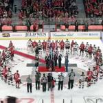 "RT @BleacherReport: VIDEO: NHL fans in Ottawa, Montreal & Toronto sing ""O Canada"" in unison in a touching tribute http://t.co/MAhDF5tO3c http://t.co/u05tpvl96p"