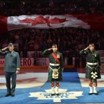 Tonight we stand together: Air Canada Centre pays tribute to slain soldiers http://t.co/z6gr2Y9BNk http://t.co/mZj30Eg5tB