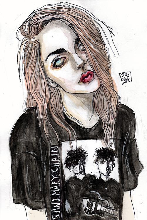 Фрэнсис кобейн и ее рисунки