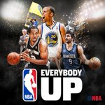 C'mon @Spurs, @Warriors, @MNTimberwolves... #EverybodyUp!