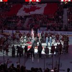 Hockey returns to Ottawa with emotional pre-game anthem ceremony http://t.co/wWvTETm7gG http://t.co/Zo7fpXpoy0