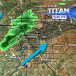RT @SchwartzTV: Heads up #Sacramento. Light rain moving into the area. #cawx http://t.co/InzAFJeHMe