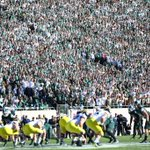 Great atmosphere at Spartan Stadium today. Students delivered for @MSU_Football - #ItStartsHere http://t.co/FNzpHsLjul