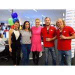 RT @ameliabroun7: In the @Telethon7 phone room with the boys from @929 and @amazingraceau #Telethon2014 #telethon7 http://t.co/iOJux65S8R