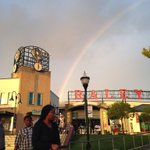 RT @RiverCats: Rainbow leading to Trick-or-Treat at @RaleyField http://t.co/4Ztzvq75CM
