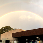 Its a double rainbow. Send us yours with the CBS Sacramento Weather app for iPhone, Android https://t.co/cIt7bH1NnY http://t.co/7Q9A4fmPKH