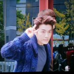 haelic: 141026 Donghae @ Inkigayo (after pre-recording) (1) http://t.co/Z3hgE6HZZp