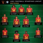 "#USC #FightOn RT ""And here is the USC Football defensive starting lineup. #BeatTheUtes http://t.co/0ISMdmoEDX"" #SportsRoadhouse"