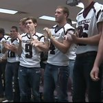 Heres the Princeville Princes getting news of their Class 1A playoff pairing. #IHSABrackets http://t.co/6p7ww24jk4