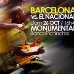 RT @BarcelonaSCweb: Venta de entradas mañana: Pollos a la brasa Barcelona 9am- 2pm / Mall del Sol y El Fortin 10h30 a 2pm #VamosBSC http://t.co/EUOWCY1fOL