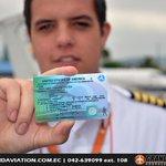 Convalida tu licencia de #PilotoComercial en #Ecuador. Pregunta por nuestro programa especial. || @n_larenas @GabSC28 http://t.co/Tgby7KJxSQ