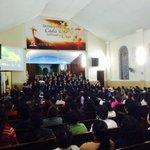 Coral Nuevo Tiempo se presenta en la Iglesia Central de Trujillo alabando a nuestro Creador. @radiontperu http://t.co/yYHZEGyKRG