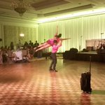 . @RinainDC at Saturday nights Dancing Stars Gala in Tysons. In the lead with a score of 28/30. http://t.co/gYcdMTaw0T