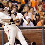 RT @SFGiants: Due up for the #SFGiants bottom of the 4th Belt Perez Crawford #OctoberTogether http://t.co/e7jgWiBt8E
