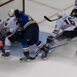 """From NHL: """"Video review determined that the puck completely crossed the Blackhawks goal line in a legal fashion."""" http://t.co/CaLWkFeOjY"""