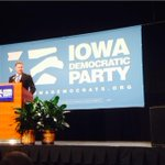 """Bruce Braley quotes Bruce Springsteen at #JJ2014 """"We take care of our own."""" http://t.co/XrSkA9FupP"""