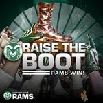 The Boot stays in Fort Collins! Rams take the Border War, 45-31, behind 5 TD passes from Grayson. #TheClimb http://t.co/fbBnu3WZrH