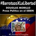 RT @ProgresoAragua: Sacan a #DouglasMorillo y sus pertenencias del Sebin y fue llevado a una celda de castigo #BarrotazoXLaLibertad http://t.co/E6671w18tP