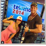 Love seeing you rock a @kidscancercure #thetelethonadventurers hat at @Telethon7 @DrSallyandTyson #telethon7 http://t.co/MkoV6Ny2rS