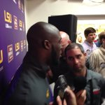 """Fournette on Death Valley tonight: """"I knew it was going to be crazy back there. They lifted us."""" #LSU http://t.co/Oc5ceH4kel"""