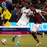 RT @WhitecapsFC: Heres your final score Caps fans. Drink it in... #PlayOffBound #VWFC http://t.co/KNeXtyRyHn