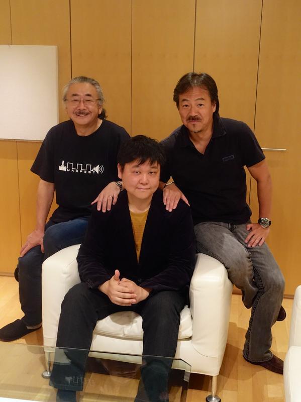 植松さん&イトケンと。 http://t.co/D0QIhio6NK