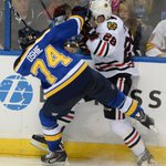 Frustration mounting for sputtering #Blackhawks after 3-2 loss to Blues. My story: http://t.co/86DnJelpr4 http://t.co/lfknf8sK6y