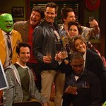 RT @nbcsnl: Can you even tell which is the real Jim Carrey? #SNL http://t.co/lOYAKj54Iy