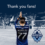 RT @WhitecapsFC: Whether you were at @BCPlace or watching from home, that one was for you. Thanks fans! #VWFC #PlayOffBound http://t.co/ZOgUQLiA5l