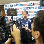 RT @WhitecapsFC: The big man is all smiles in the post-match media scrum. @kwaston88 #VWFC #PlayOffBound http://t.co/VJ0Tl5RFXH