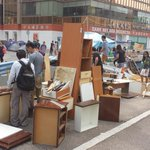 RT @frostyhk: Carpentry site at Admiralty is growing industrial #OccupyHK http://t.co/SgAmxZzW6z