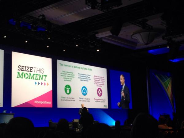 Data is the WHAT; Cloud is the HOW, and Engagement is the WHY--Bob Picciano #IBMInsight #ibmpartners http://t.co/HuaWwqHpjO