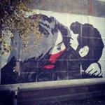 RT @reporterarm: #graffiti in #Yerevan #kiss #streetart. photo Credit: Parandzem Avagyan on Instagram http://t.co/11m5EQec7z http://t.co/9r3sfjnUhB