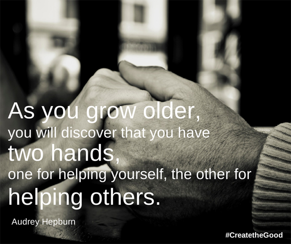Reach out and help someone. http://t.co/34XZ941dii http://t.co/v4sfhSDOC5