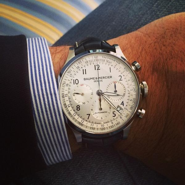 A #timepiece that makes the difference. Thanks for sharing your #Capeland with us Nelson Holdo. http://t.co/7AngqdZJu6