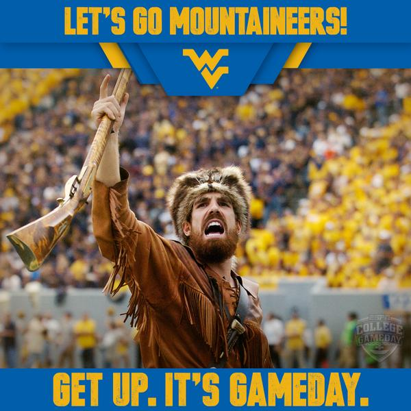 Breaking: GameDay is heading to Morgantown! #GetUp4GameDay http://t.co/vBoByJFtj6