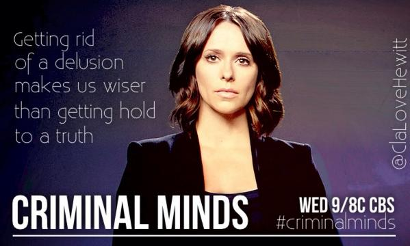 Jennifer Love Hewitt @TheReal_Jlh as #KateCallahan on @CrimMinds_CBS S10 - Wednesdays 9/8c on @CBS #CriminalMinds http://t.co/mXhKqTdVgM
