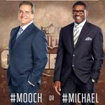 RT @nflnetwork: A special edition of M&M starts NOW.  Who ya got: #Mooch or #Michael?!
