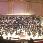 Didn't enjoy music at Carnegie hall yesterday. Had no idea it would be jesus songs. Yuck. Left right away.