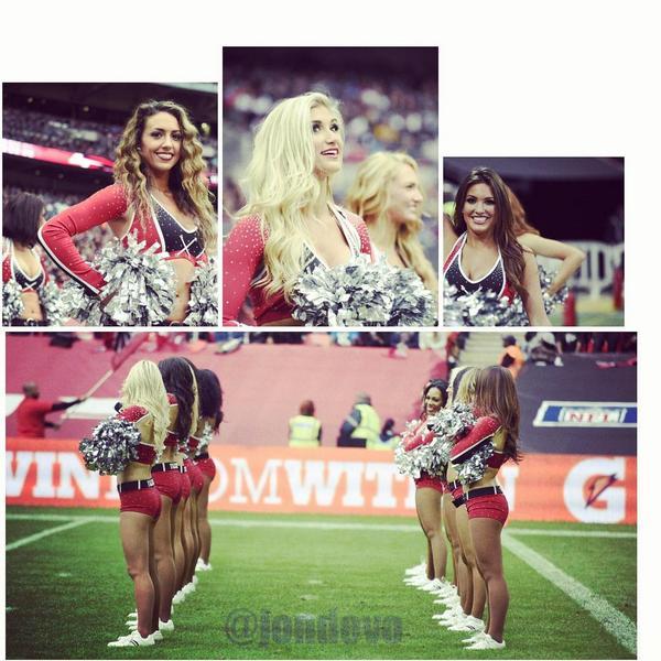 @ATLCheerleaders kept spirits high at #WembleyStadium. #classy #cheerleaders #NFL @Atlanta_Falcons #photography http://t.co/3O9de0TuX5