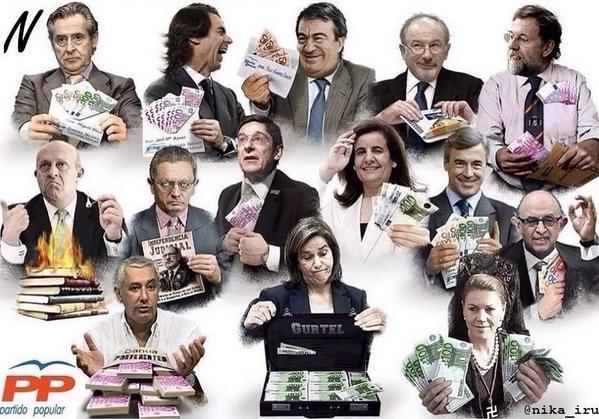 @jsanchez06: LA CASTA porque la gente sigue votándoles..... Como es posible ser cornudos y pagar la cama? http://t.co/bAoFm6sTsu