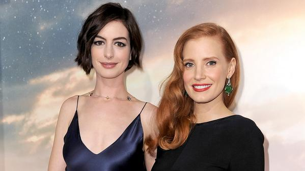 PHOTOS: Interstellar Premiere with Anne Hathaway, Jessica Chastain, Christopher Nolan