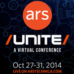 Reminder: #ArsUnite virtual conference this week. New feature stories M-Th at 9am ET + live interviews each afternoon http://t.co/Ci9XXtDV94