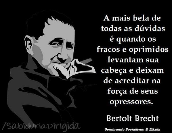 De Bertolt Brecht ao povo! http://t.co/nOngH1QPaE