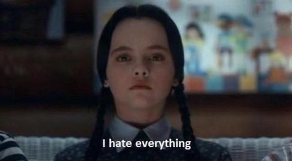 Wednesday Addams = my ultimate spirit animal http://t.co/xLnvhNJvuO