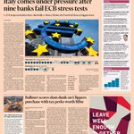 Front page of the Financial Times US for Monday, October 27 http://t.co/jbHQHQJuWH